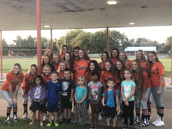 K+ meets our State Bound Softball team